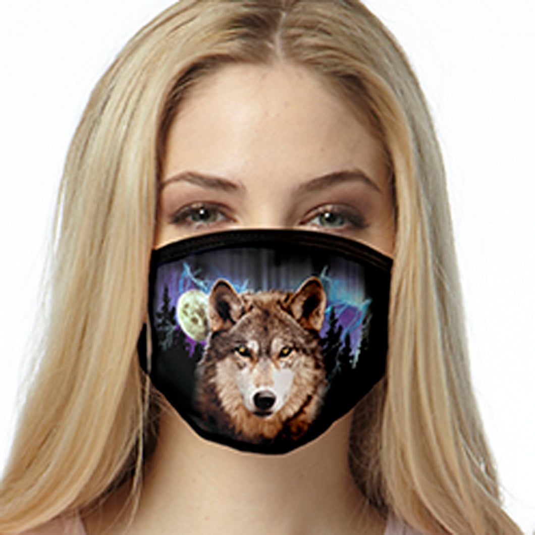 Wolf FACE MASK Cover Your Face Masks