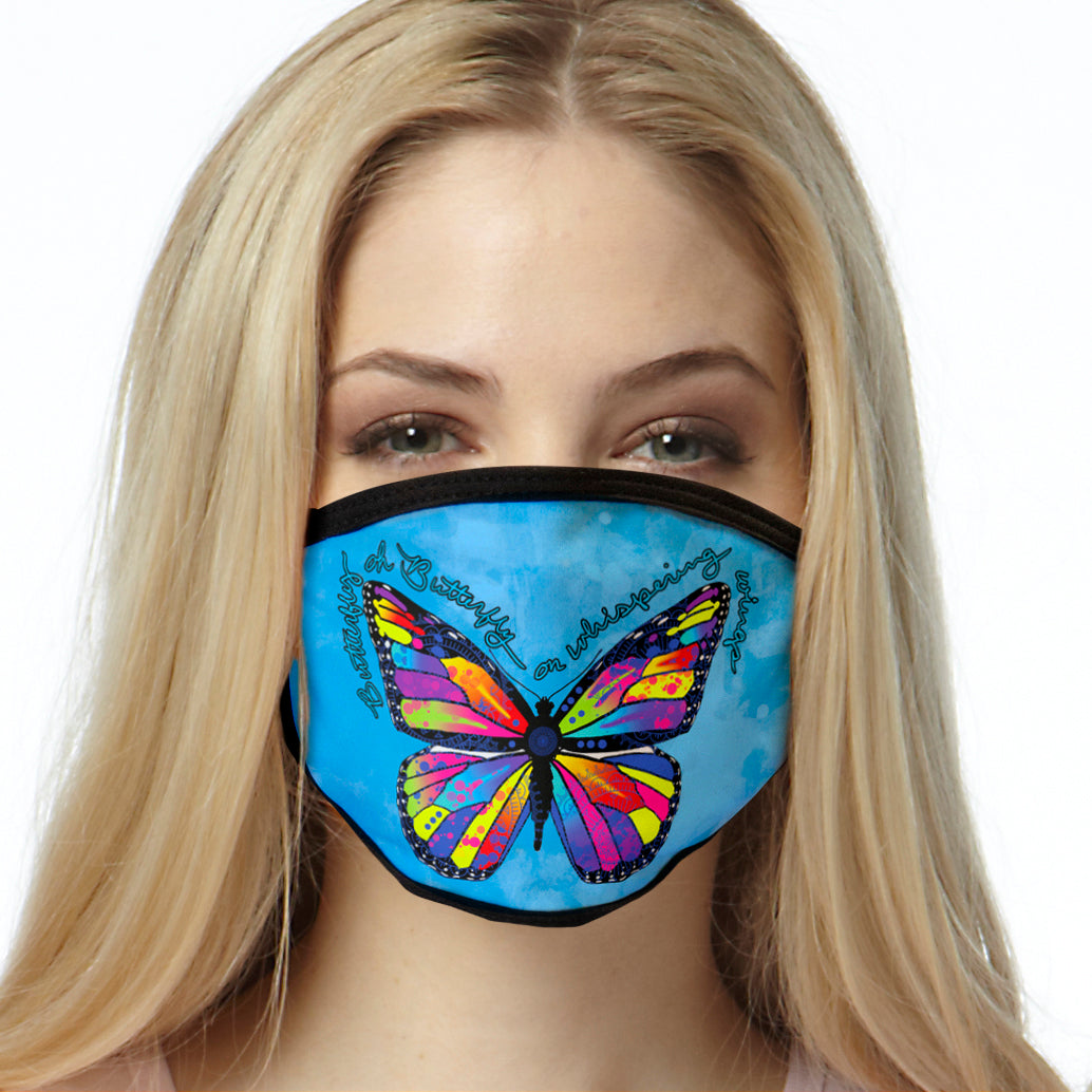 Colorful Butterfly FACE MASK Cover Your Face Masks
