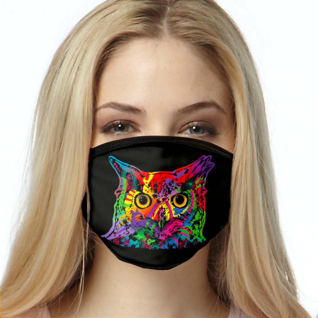 Owl FACE MASK Cover Your Face Masks