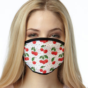 Cherries Pattern FACE MASK Cover Your Face Masks