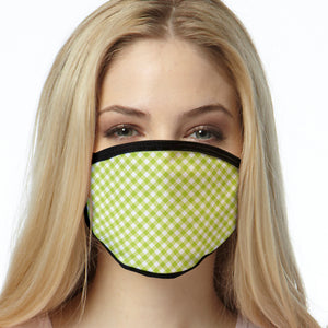 Gingham Pattern FACE MASK Cover Your Face Masks