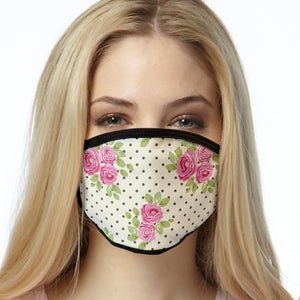 Chocolate Roses FACE MASK Cover Your Face Masks