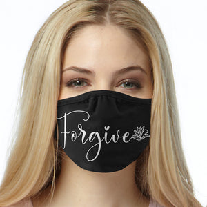 Forgive FACE MASK Cover Your Face Masks