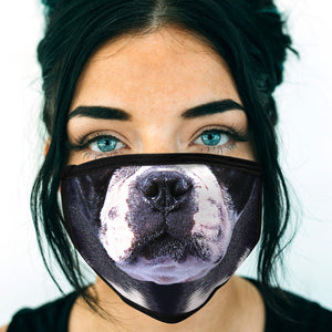 Boston Terrier FACE MASK Cover Your Face Dog Breed Masks