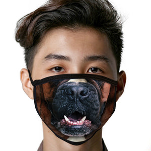 Boxer FACE MASK Cover Your Face Dog Breed Masks