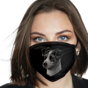 Jack Russell FACE MASK Cover Your Face Dog Breed Masks