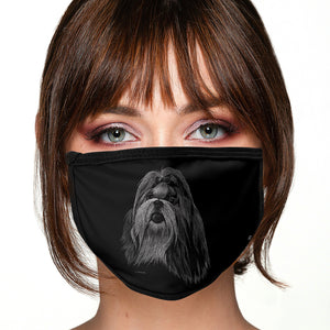 Shih Tzu FACE MASK Cover Your Face Dog Breed Masks