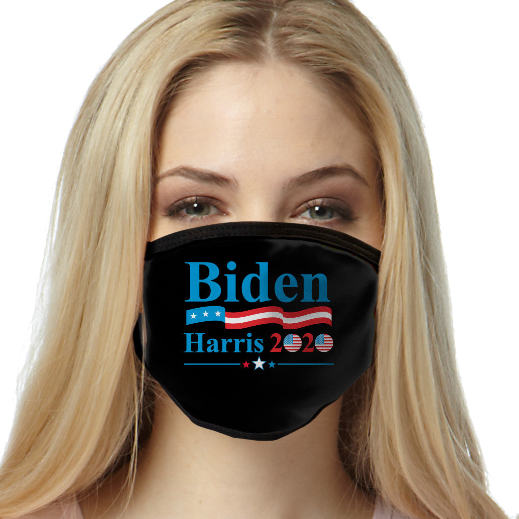 Biden Harris 2020 Flags FACE MASK Cover Your Face Masks