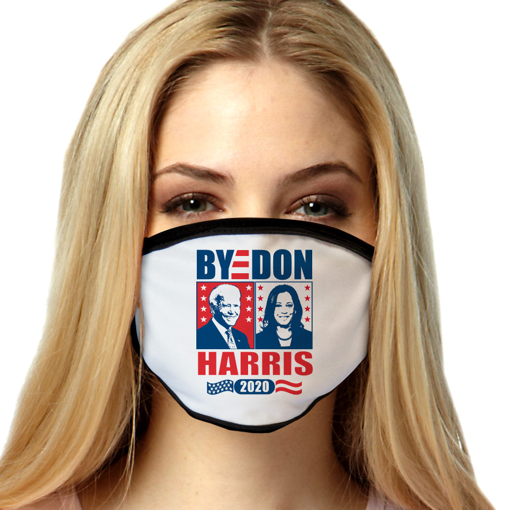Byedon Harris 2020 Biden FACE MASK Cover Your Face Masks