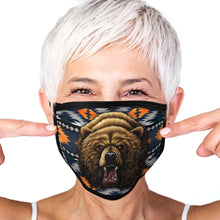 Load image into Gallery viewer, Bear Face Mask Southwest Face Covering