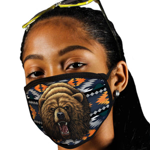 Bear Face Mask Southwest Face Covering