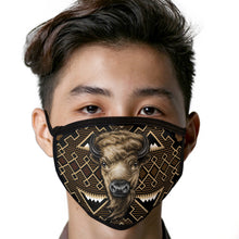 Load image into Gallery viewer, Buffalo Face Mask Southwest Face Covering