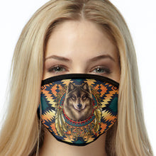 Load image into Gallery viewer, Wolf Face Mask Southwest Face Covering
