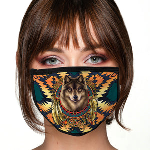 Wolf Face Mask Southwest Face Covering