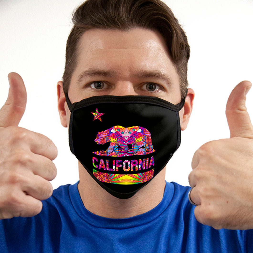Cali FACE MASK Cover Your Face Masks