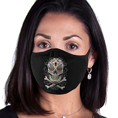 Floral Skull FACE MASK Cover Your Face Masks