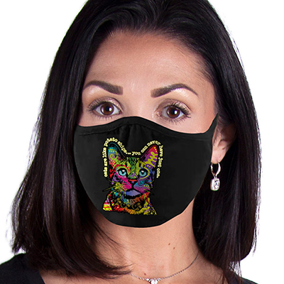 Hello Cat FACE MASK II Cover Your Face Masks