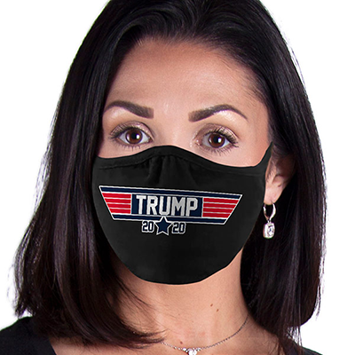 Trump FACE MASK Top Gun Trump Face Covering