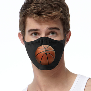 3D BASKETBALL FACE MASK Cover Your Face Masks