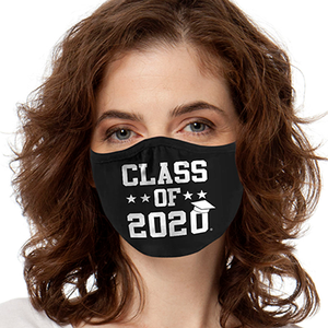 Class of 2020 FACE MASK 2-Ply Cover Your Face Masks