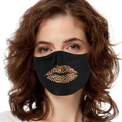 Leopard Lips FACE MASK Cover Your Face Masks