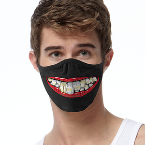 Toothy Lips FACE MASK Cover Your Face Masks