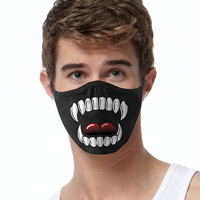 Vampire FACE MASK Cover Your Face Masks