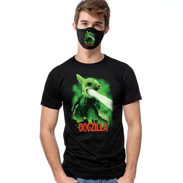 Dogzilla T-SHIRT SET - Cover Your Face