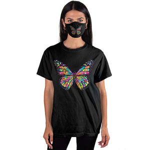 Butterfly T-SHIRT SET - Cover Your Face