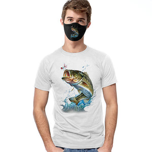 Action Bass T-SHIRT SET - Cover Your Face