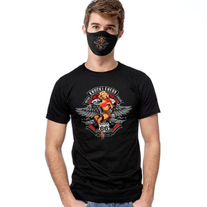 Knuckle Head Pinup T-SHIRT SET - Cover Your Face