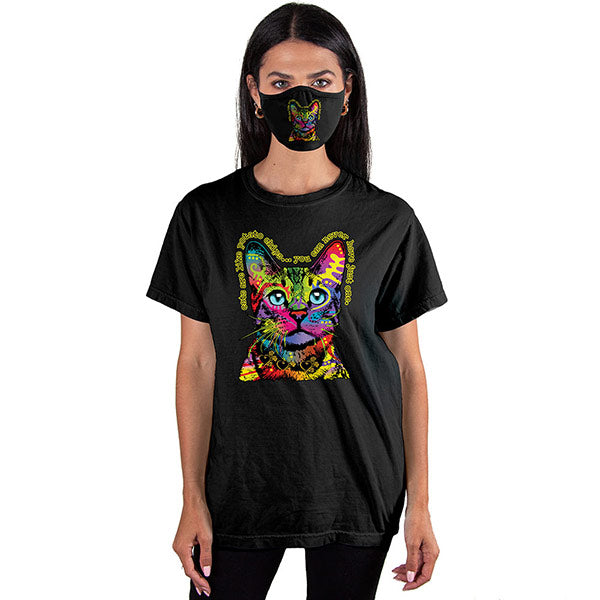 Hello Cat T-SHIRT SET - Cover Your Face