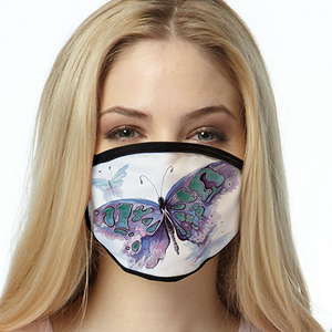 Watercolor Butterfly FACE MASK Cover Your Face Masks