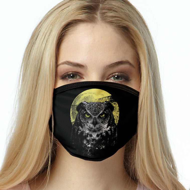Night Owl FACE MASK Cover Your Face Masks