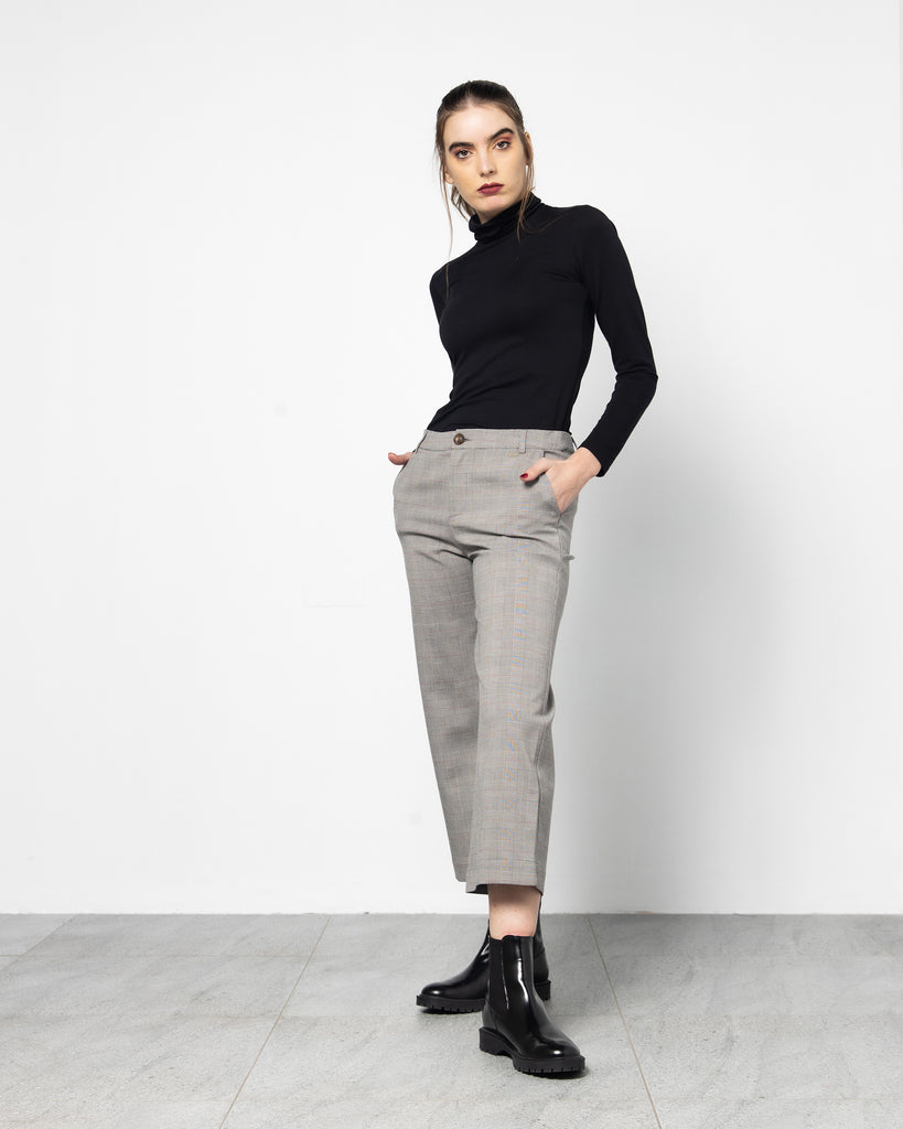 CROPPED STRAIGHT CUT PANT 1240 - بنطلون