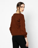 KNITTED WOOL SWEATER 1250 - سويتر