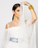 SEE THROUGH GLITTER GOLD INNER KAFTAN 1581 - قفطان