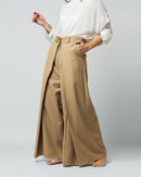 WRAPED SIDE WIDE LEG PANT 1656 - بنطلون