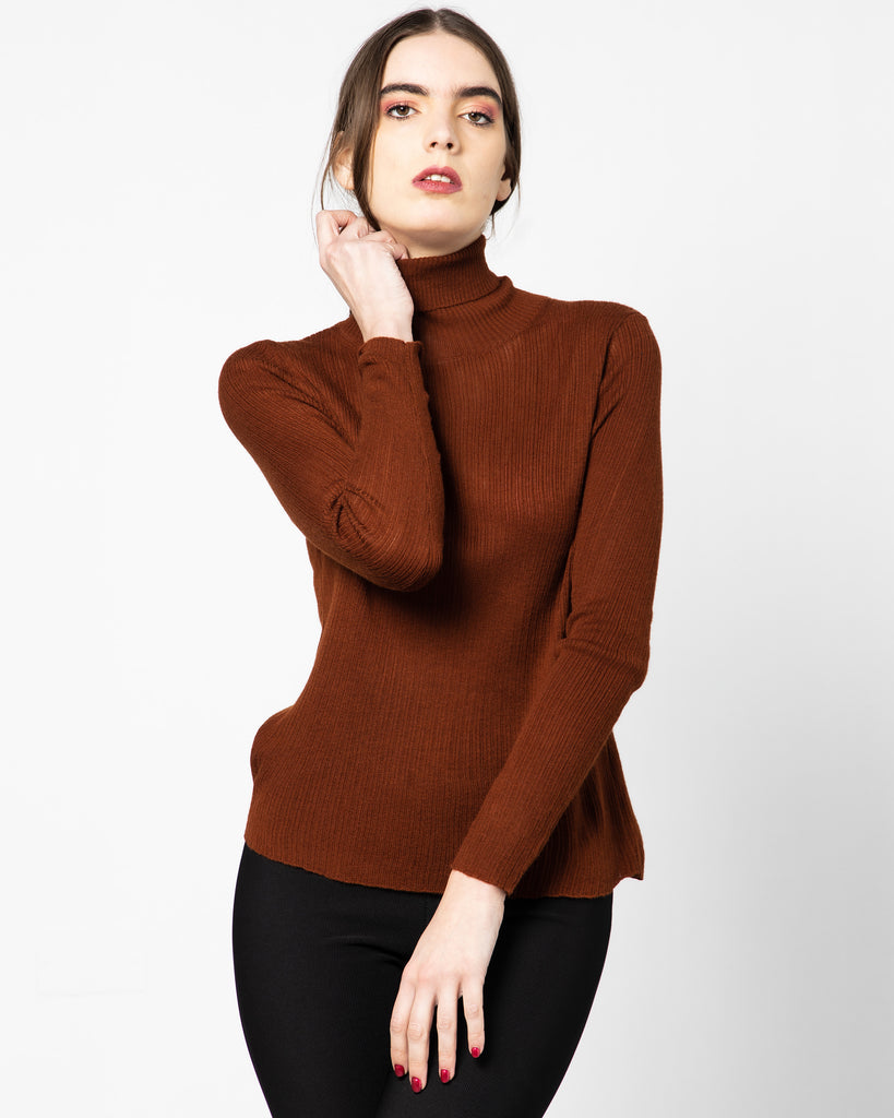 TURTLE NECK KNITTED 1795