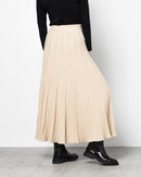 GATHERED WIDE WOOL SKIRT 1830 - تنورة