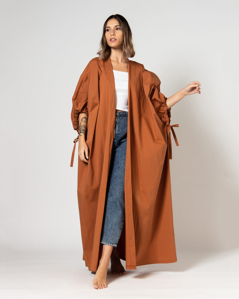 OVERSIZED GATHERED TIE SLEEVES BESHT 1910 - بشت