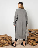 OVERSIZED KNITTED CARDIGAN 2012 - ملابس صوف