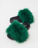 FAUX FUR SLIDES SLIPPERS 2021 - سلبرز