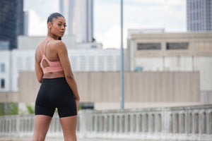 Monie Christo Biker Shorts-Monie Christo Collection