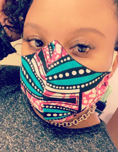 Ankara Face Mask-Monie Christo Collection