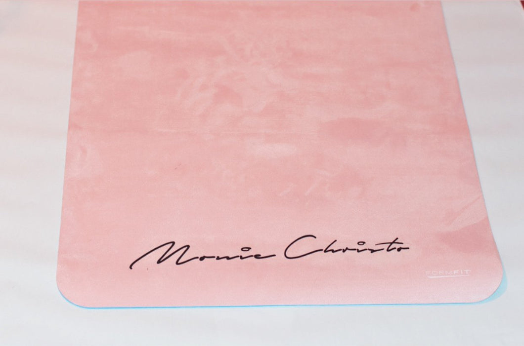 Monie Christo logo XL yoga mat-Monie Christo Collection