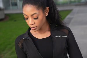 Monie Christo Logo Jacket-Monie Christo Collection