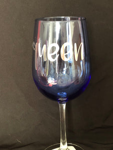 Custom wine glasses