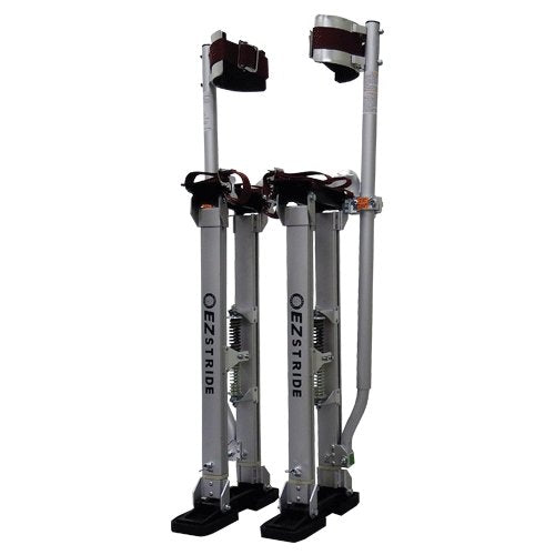 "Circle Brand 18"" to 30"" EZ Stride Adjustable Stilts - Aluminum - Toolriver 