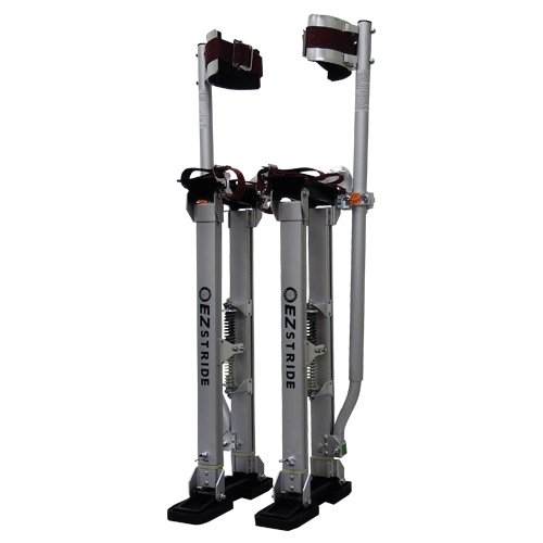 "Circle Brand 48"" to 64"" EZ Stride Adjustable Stilts - Aluminum - Toolriver 